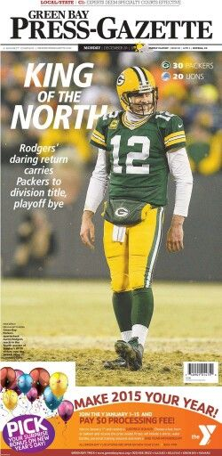 King Of The North Green Bay Green Bay Packers Fans Green Bay Packers