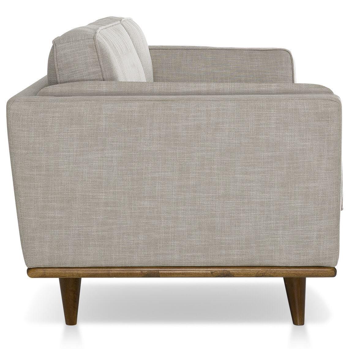 Dahlia 2 5 Seat Fabric Sofa Size W 197cm X D 93cm X H 80cm In Shell 90 Polyester 10 Linen Woven Freedom In 2020 Fabric Sofa Elegant Sofa Freedom Furniture