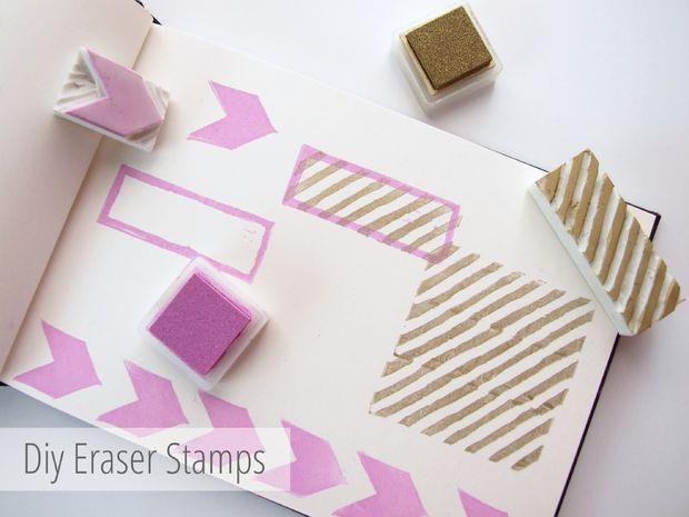 Make Your Own Diy Custom Eraser Stamps. #eraserstamp Picture of Make Your Own Diy Custom Eraser Stamps. #eraserstamp