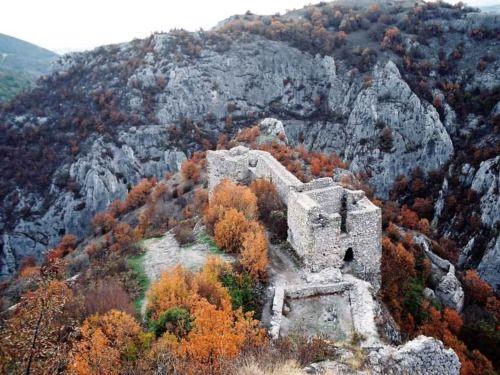 Sokograd, a medieval Serbian fortress ~ Serbia