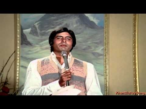 Main Pal Do Pal Ka Shayar Hoon - Kabhi Kabhie (1976) *HD* 1080p Full Song