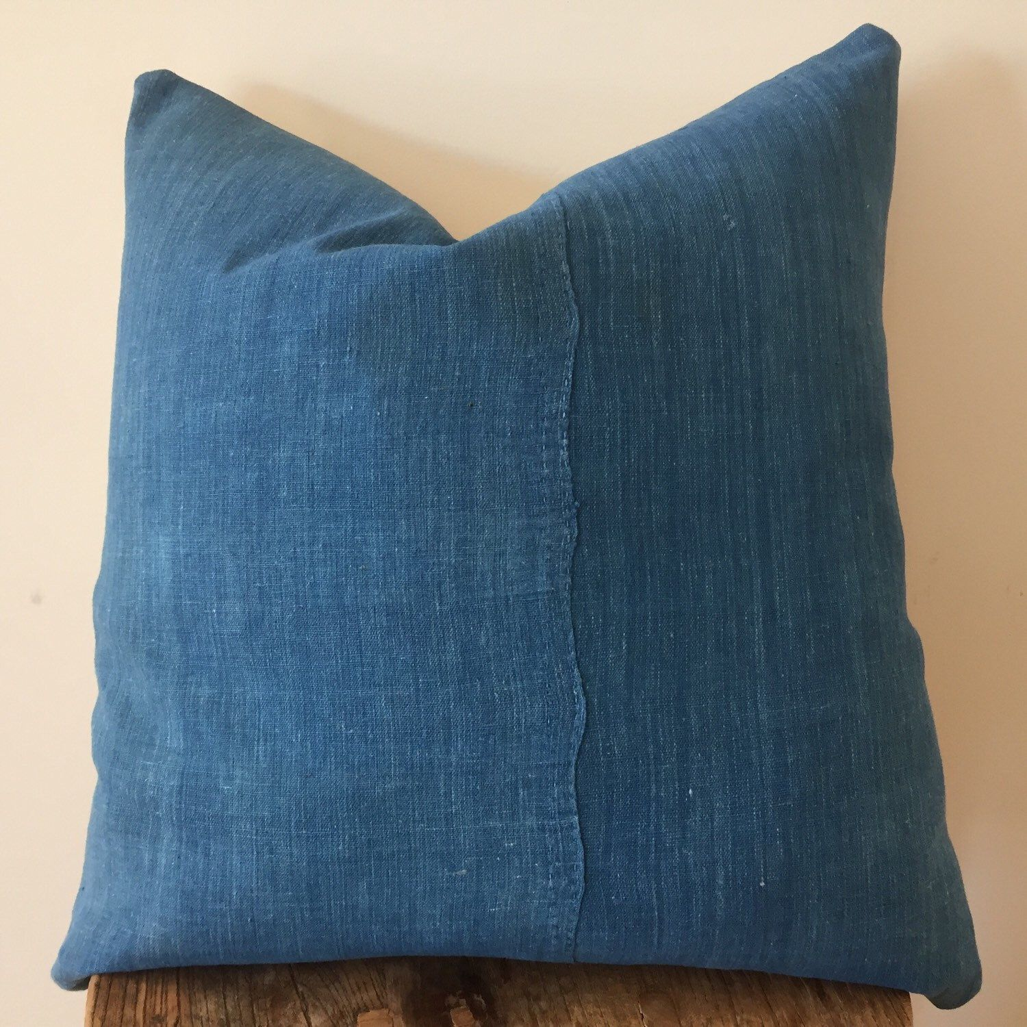 Vintage Indigo Fabric From An Old Japanese Futon Cover It S Probably The 70 And