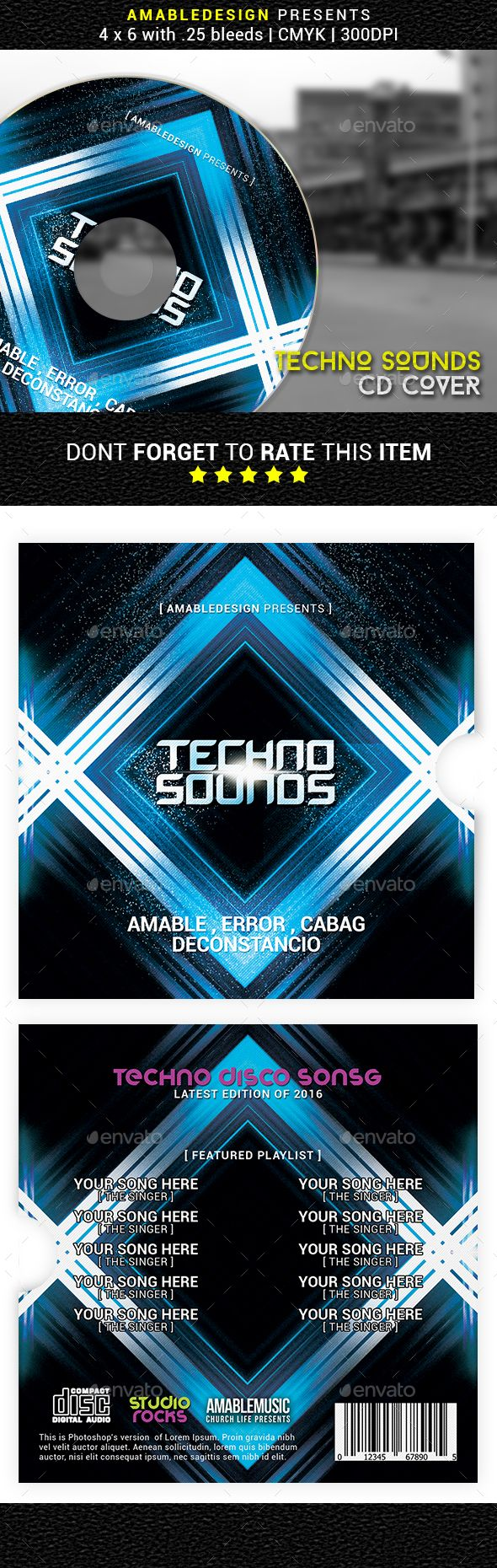 Techno Sounds CD Cover