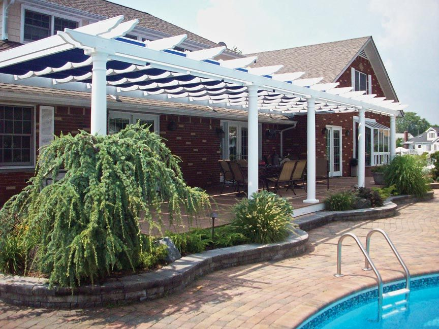decks and patios for track homes | Canopy and track kits are available to fit under & decks and patios for track homes | Canopy and track kits are ...
