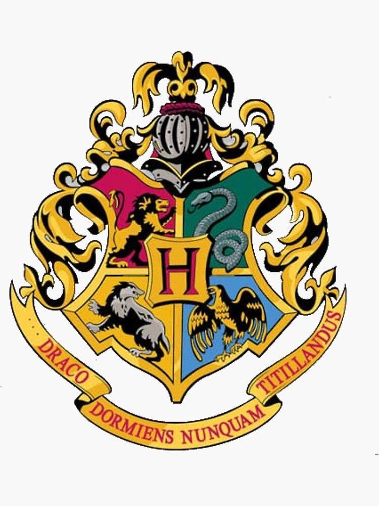 Hogwarts Stickers Harry Potter Crest Harry Potter Wall Harry Potter Logo