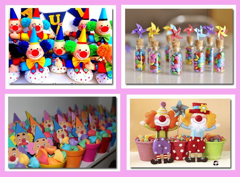641348ba7 souvenirs para fiesta de circo - ideas wonkis Payasos Infantiles, Payasos Para  Niños, Fiestas