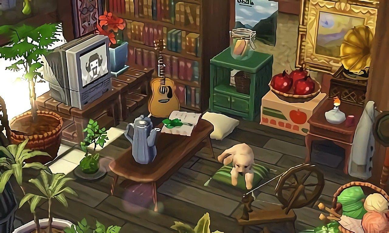 Giochi Di Pulire La Casa tumblr.에 있는 martina feher님의 핀 | 바닥 패턴, 동물, 숲