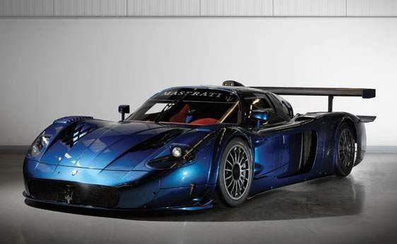 Maserati mc12 horsepower