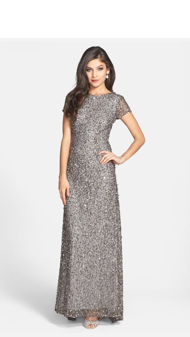 Adrianna papell sequin bodycon dress quartz yes graduation retail stores