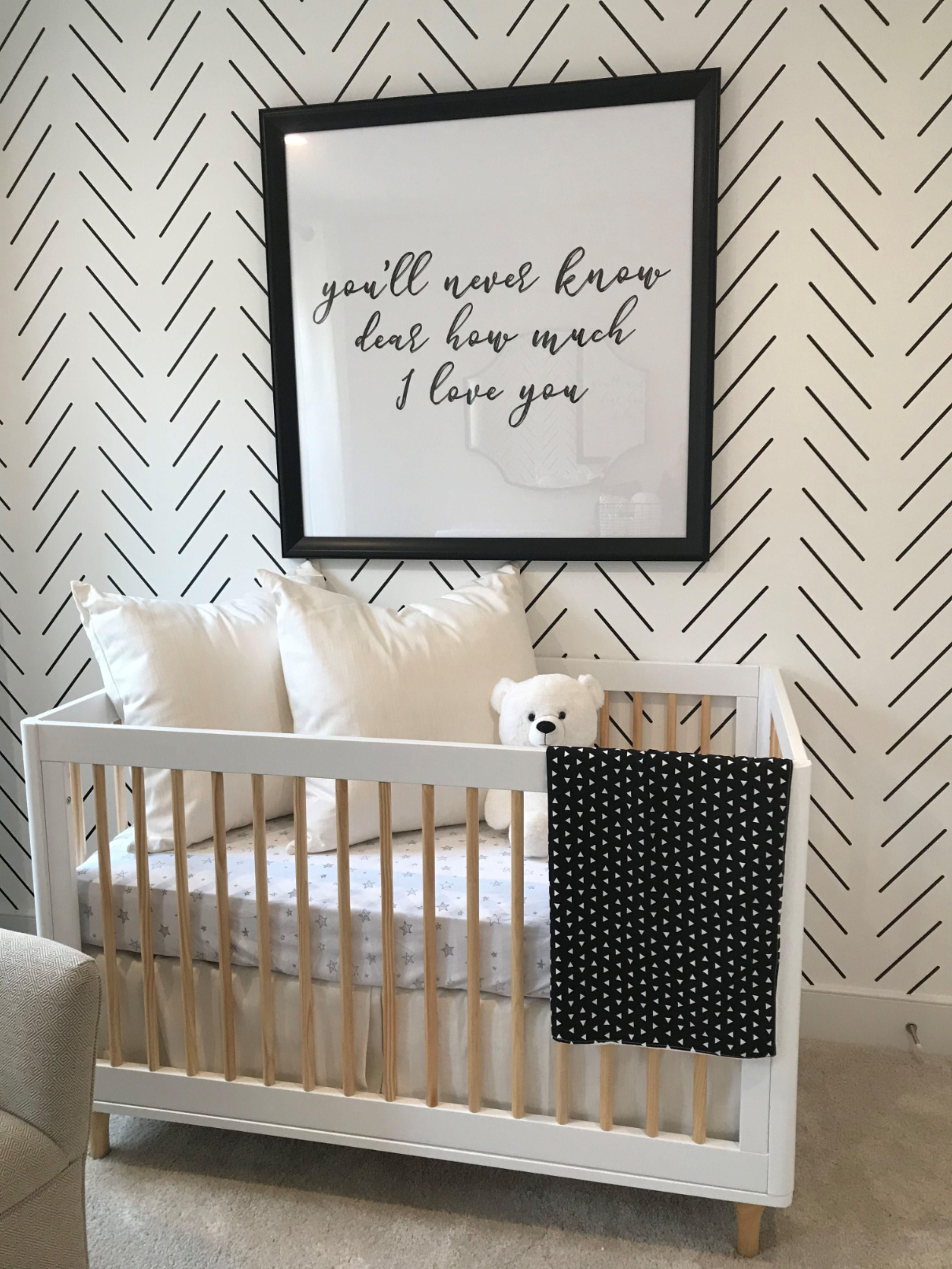 Baby Nursery Ideas Nursery Wallpaper Nursery Decor Gender Neutral Baby Nursery Baby Nursery Nursery Wallpaper