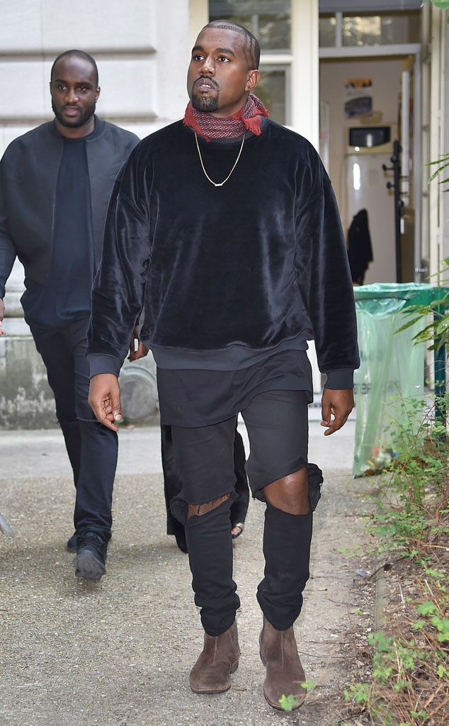 Kanye West From Stars At Paris Fashion Week Spring 2015 Kanye West Style Yeezy Outfit Kanye West