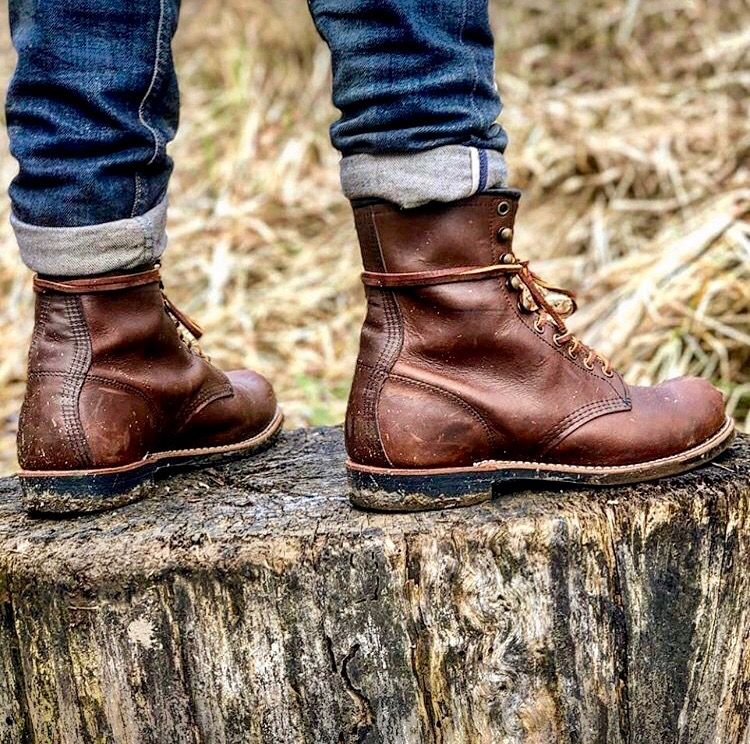 Red Wing Heritage Harvester Boot | Mens boots fashion, Boots