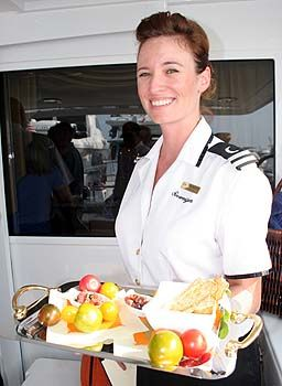 Stewardess positions for yacht crew aboard luxury yachts