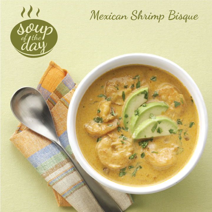 Mexican Shrimp Bisque #mexicanshrimprecipes