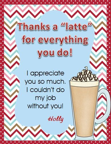 Thanks A Latte\