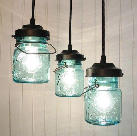 2016 new year vintage blue mason jar chandelier lighting ideas with 2016 new year vintage blue mason jar chandelier lighting ideas with lamp bulbs mason jar crafts 2016 indoor decorations aloadofball Gallery