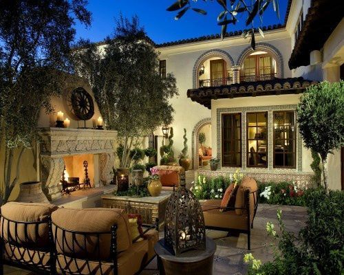 Superbe Tuscan Style Backyard | Tuscan Style Backyard. LOVE THIS!! #CourtYard  #Landscape