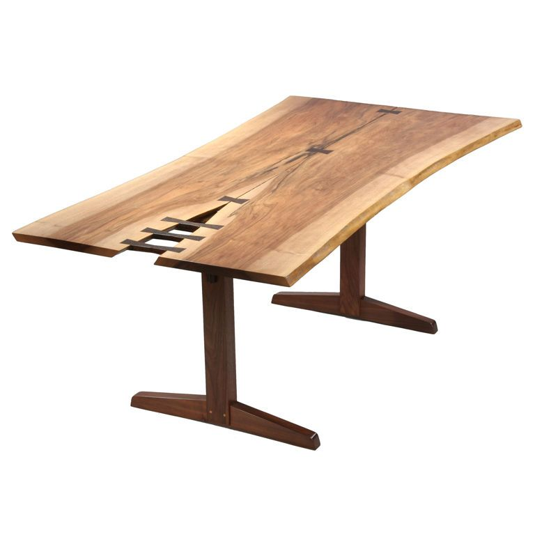 Nakashima Table usa george nakashima two-board book-matched english walnut table