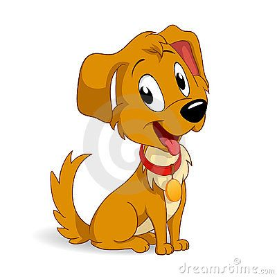 Cartoon Dogs And Puppies Cute Cartoon Puppy Dog Stock