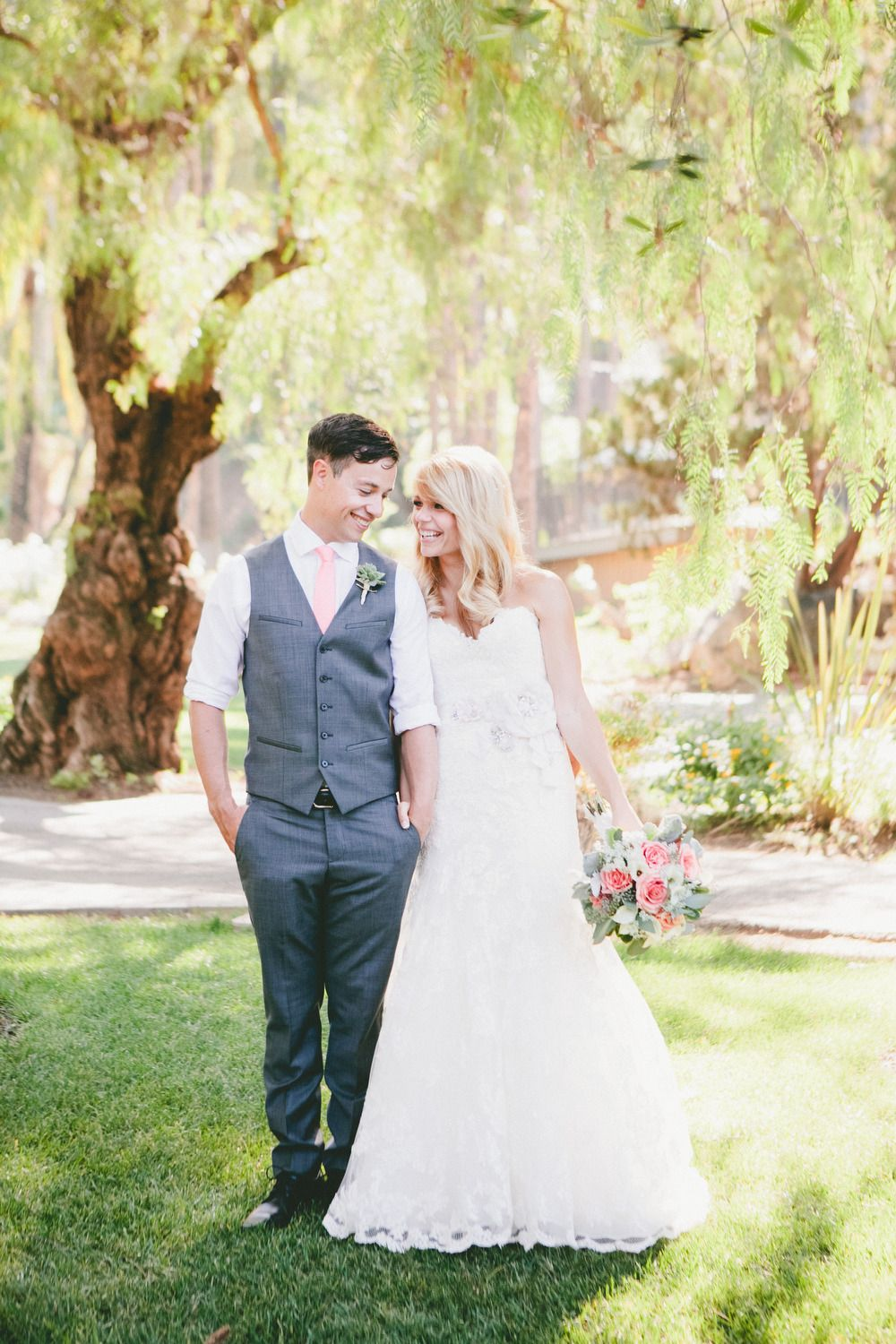 """""""LUCKY"""" was the the inspiration for this beautiful day! See the wedding on SMP -  http://www.StyleMePretty.com/california-weddings/escondido-california/2014/01/10/handmade-bandy-canyon-ranch-wedding/  OneLove Photography"""