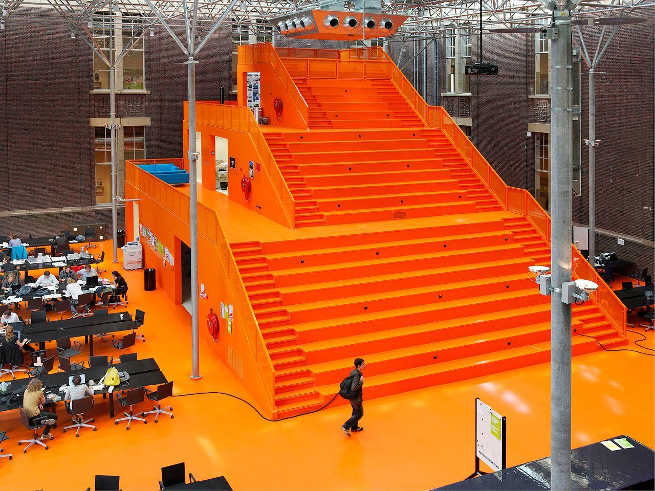 MVRDV: The Why Factory (T?F), TU Delf, Delft,