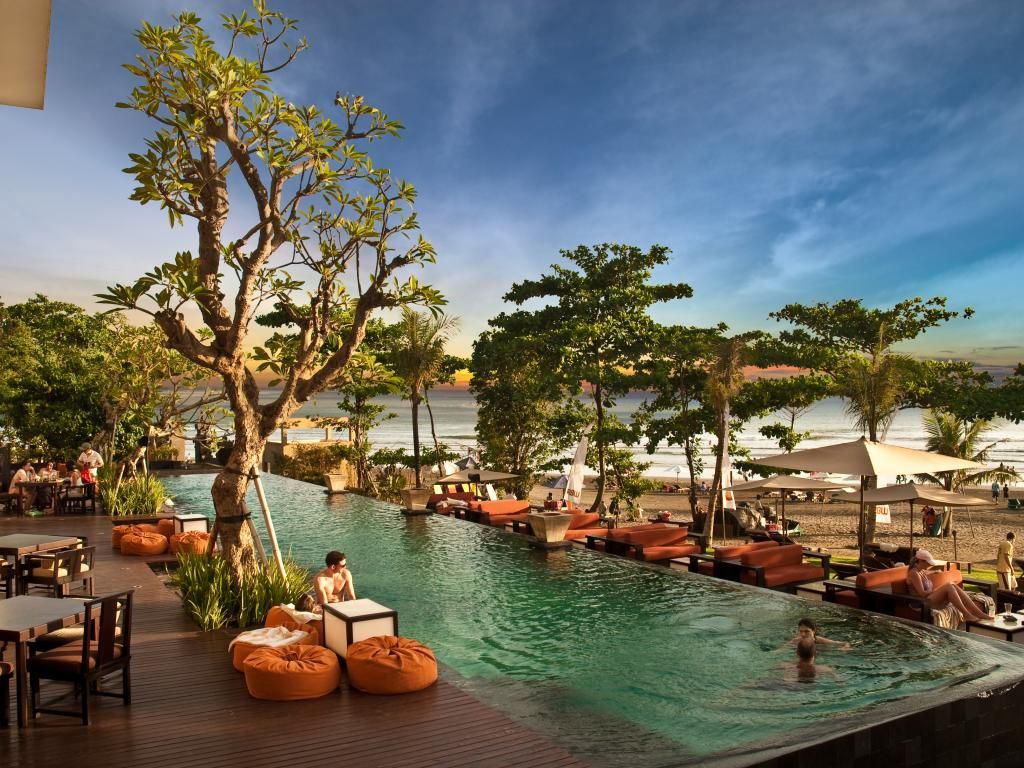 Seminyak Is A Beach Resort Area On The Southern End Of Bali Indonesia With