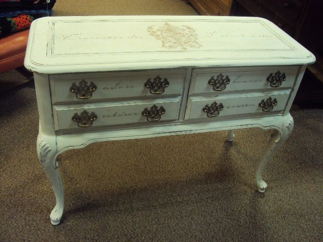 This and many other hand painted items can be found at Antiques Mall of Portage in Wisconsin. 608-742-2400