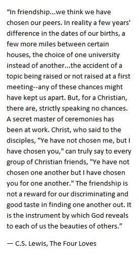from friends to disciples a friend is not by coincidence but ordained
