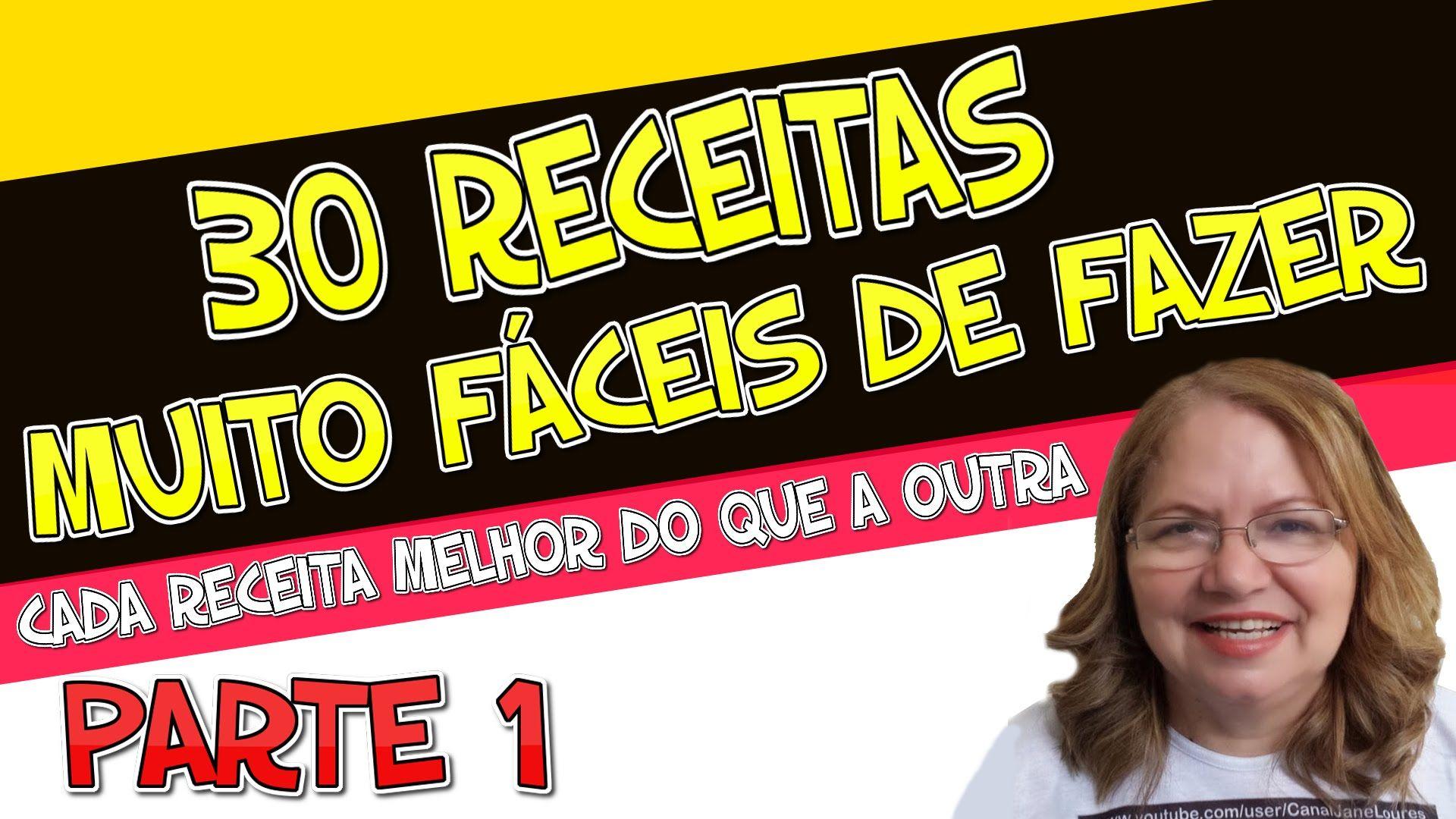 DICAS CASEIRAS - RECEITAS VARIADAS MUITO FÁCEIS DE FAZER (PARTE 1)