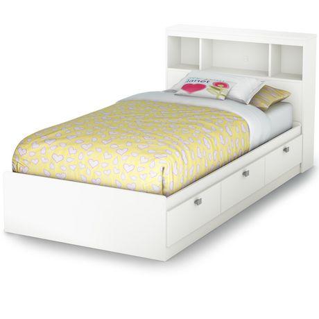 Twin Storage Bed, White Twin Storage Bed Canada