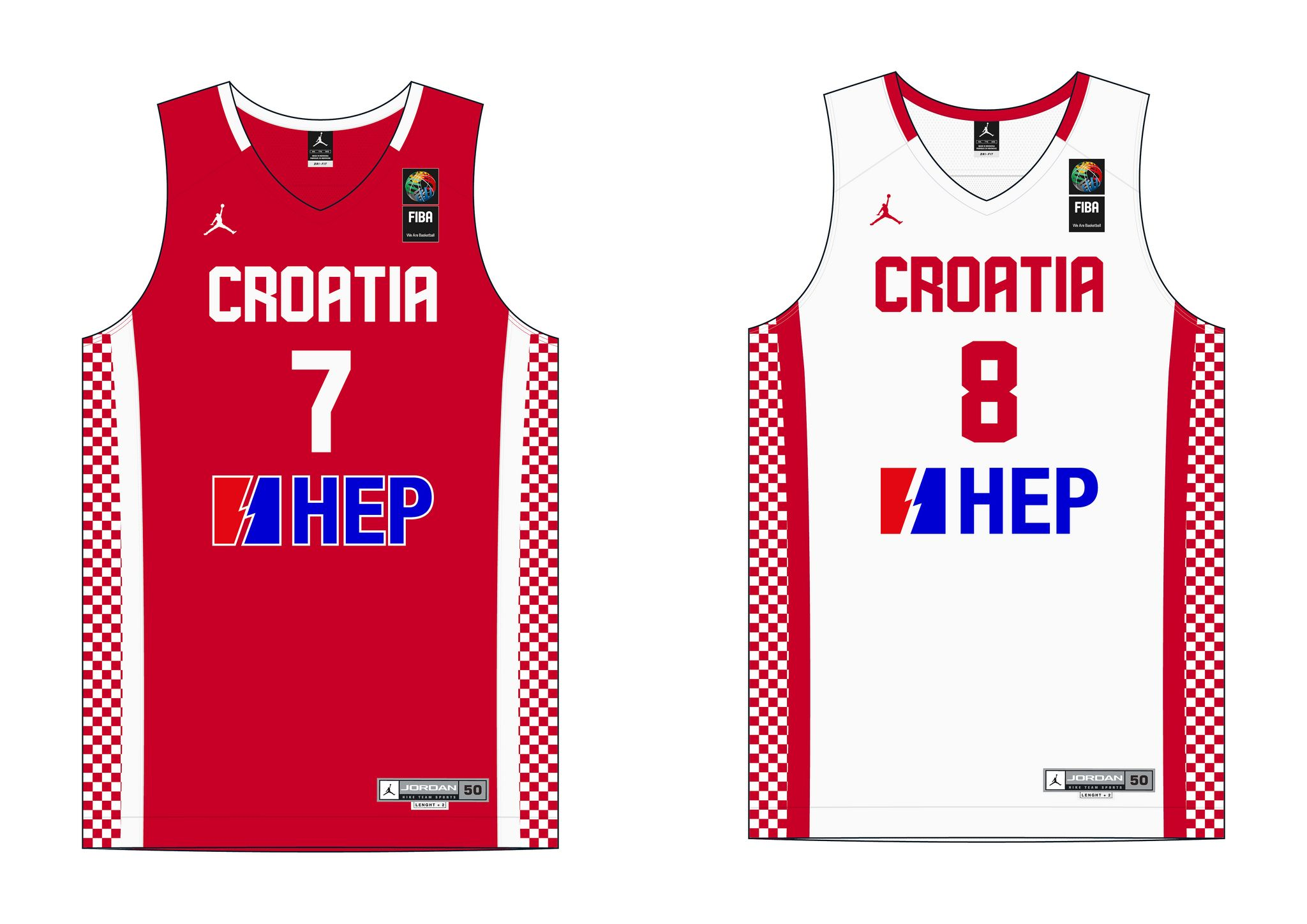 74de4dc3e35 Croatia National Team jersey (FIBA World Championship 2014