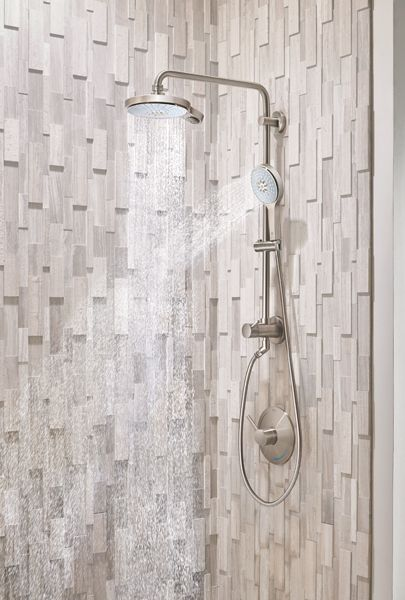 Achieve A New Shower In Under An Hour The Retrofit Shower System Provides An Easy Upgrade By Transforming An Existin Shower Systems Master Bath Remodel Shower