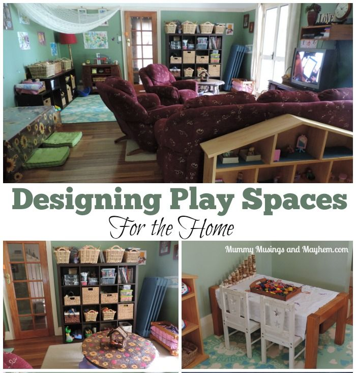 Designing Play & Learning Spaces For Home