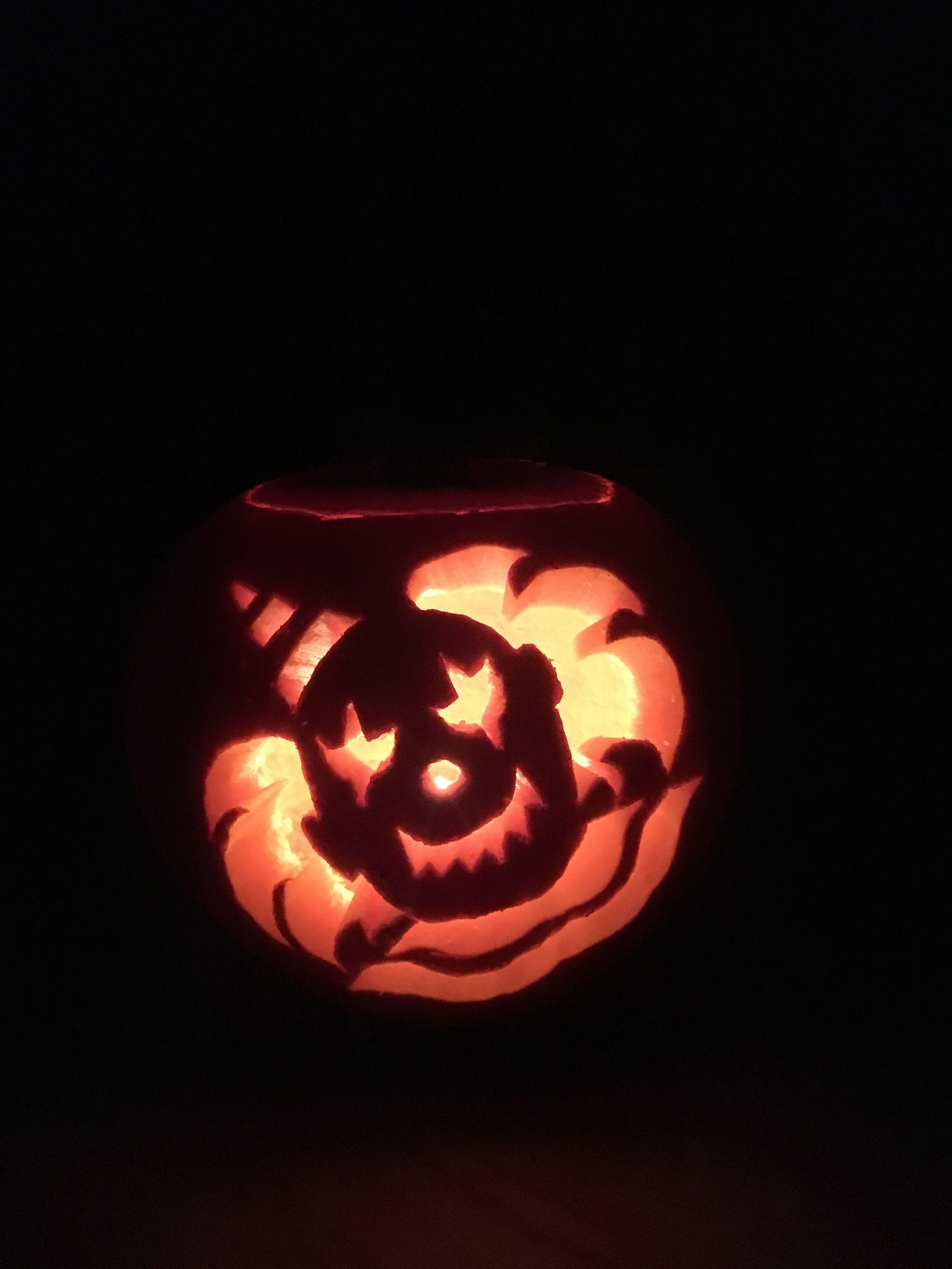 Clown Pumpkin Carving Patterns Custom Design