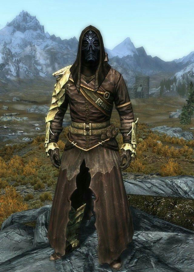 Ancient Warden By Jolly Cultist Robes Bonemold Boots And Gauntlets Nahkriin Elder Scrolls V Skyrim Skyrim Armor Elder Scrolls Art