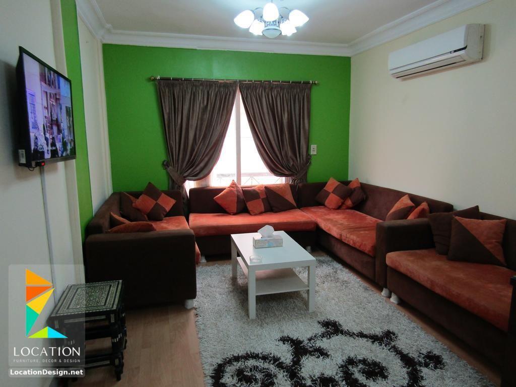 بالصور أجمل ديكورات شقق مصرية صغيرة وبسيطة Home Decor Sectional Couch Furniture