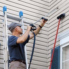 A Pressure Washer Isn T A Magic Wandif You Want A Truly Clean House You Ve Got To Use It Pressure Washing Pressure Washing Business Pressure Washing Services