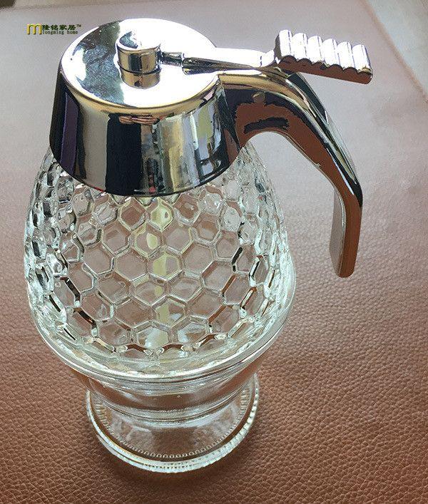 200ml Acrylic Honey Jar Container Cup Portable Juice Bee Honey ...