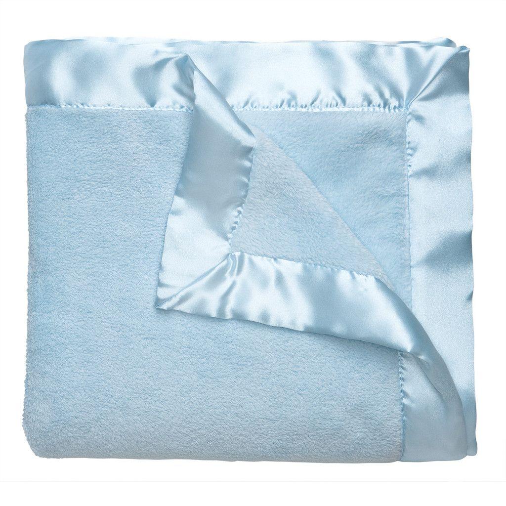 Blue Microfiber Blanket Microfiber Blanket Blue Blanket Plush Baby Blankets