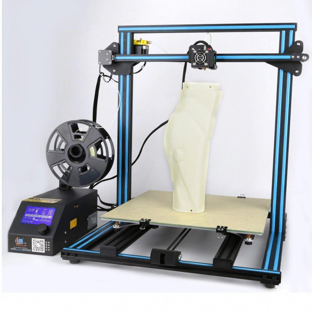 Creality CR10 Semi DIY 3D Printer Kit 3D Printers Bay