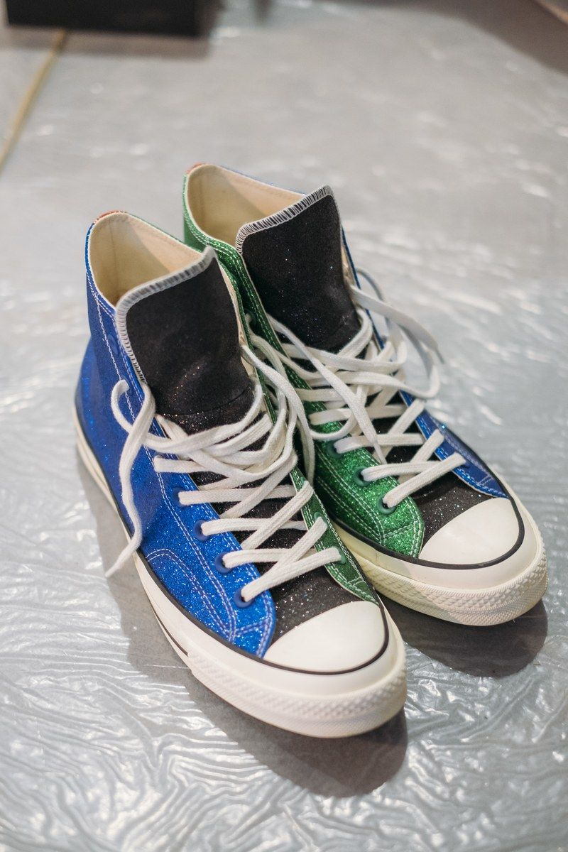 6322937ed1e The Converse and JW Anderson put glitter in the Chuck Taylor - CLOSET  LIBERATION fashion news