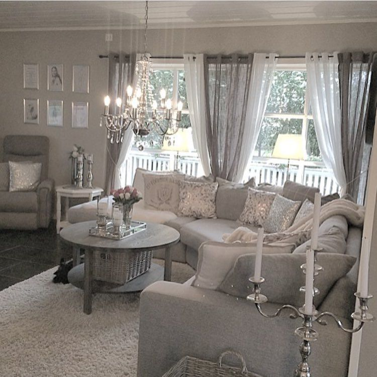 Curtain Color Ideas Living Room Images Of Decorated Walls Pin By Dream Kitchens Designs On Showroom Grey Curtains Shabby Chic Decor Colors