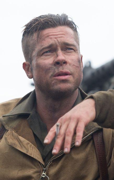 Brad Pitt Brad Pitt Fury Brad Pitt Brad Pitt Fury Haircut