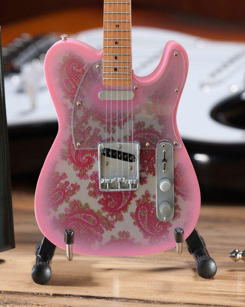 AXE HEAVEN Bob Weir Modulus Lightning Bolt MINIATURE Guitar Display Gift
