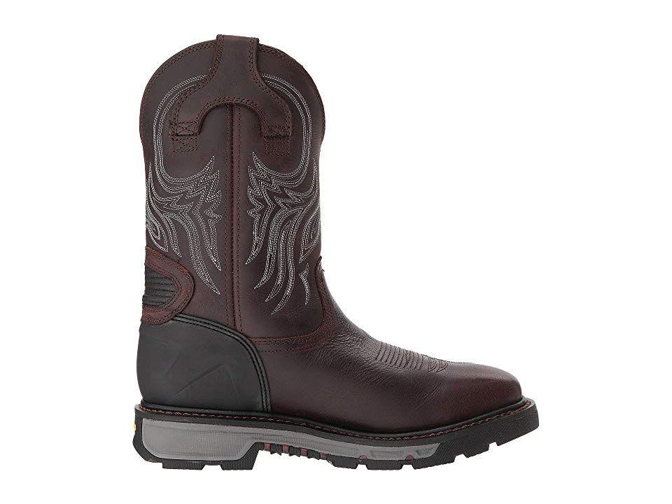 fe3dcdfa65f Justin Warhawk Waterproof Soft Toe Cowboy Boots Brown   Products in ...