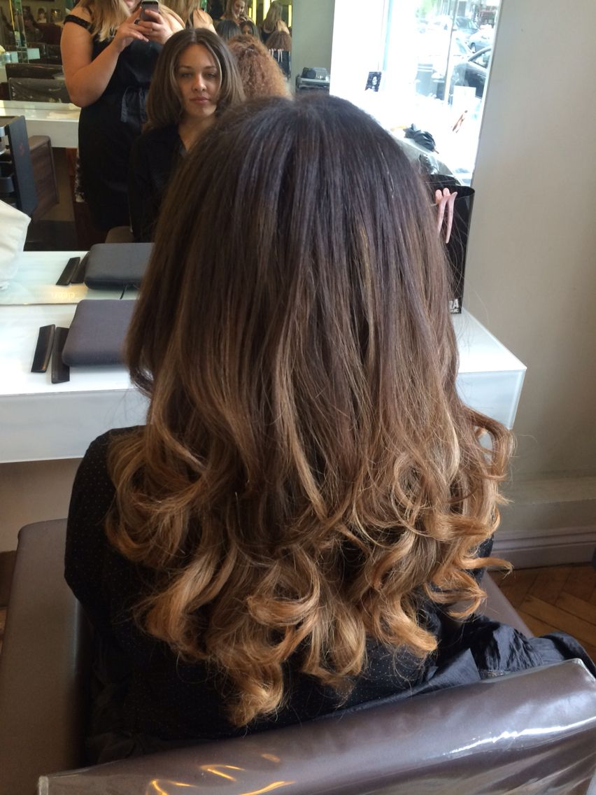 Curly Blow Dry For The Blow Dry Bar