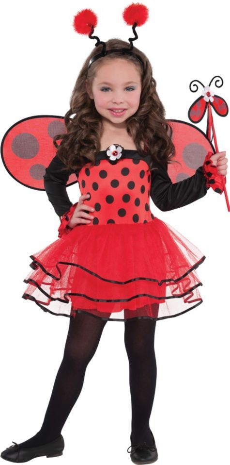 Girls Ballerina Ladybug Costume - Party City $26.99 | Emma Kate ...