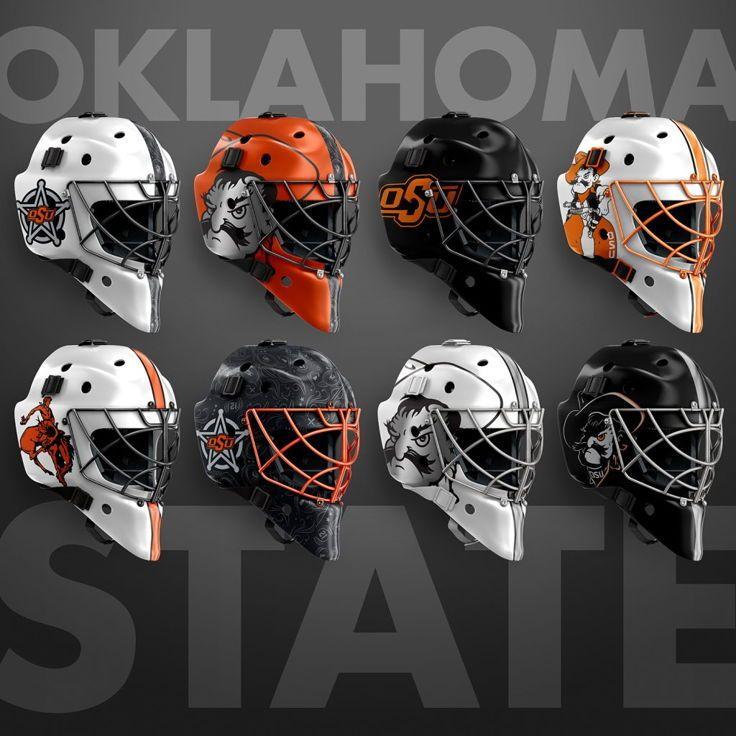 Hockey Goalie Mask Mockup Templates Nhl Mask Goalie Mask Sports