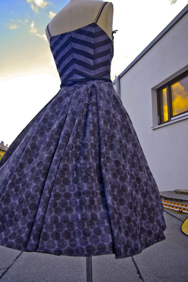Free Women's Dress Sewing Pattern from Your Style Rocks - rockabilly vintage 50s full skirt sundress summer