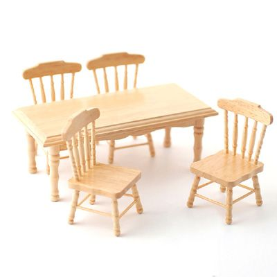 1//12th DOLLS HOUSE PINE LIVING ROOM FURNITURE